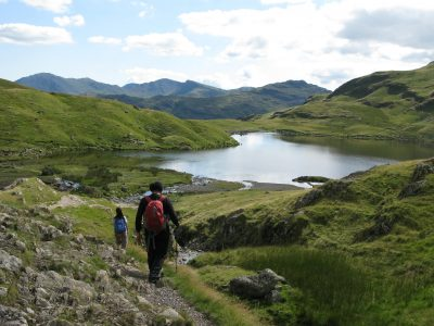 Stickle Tarn - Langdale Pikes