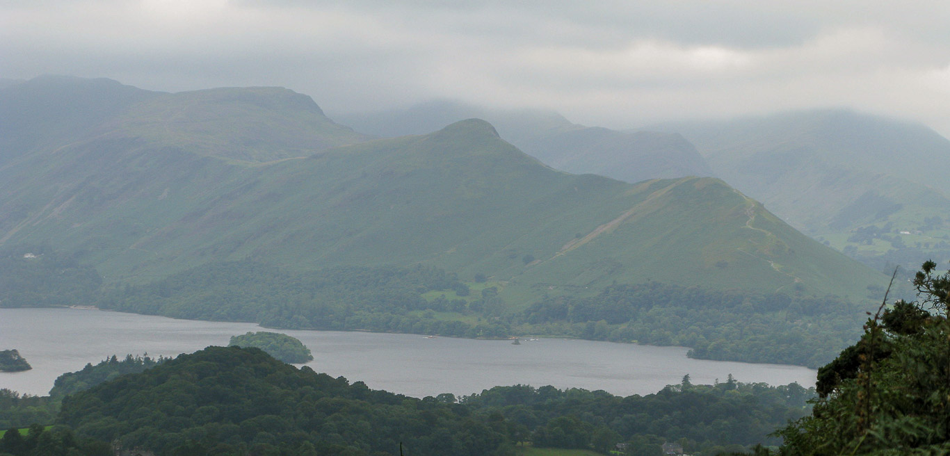 Maiden Moor and Catbells