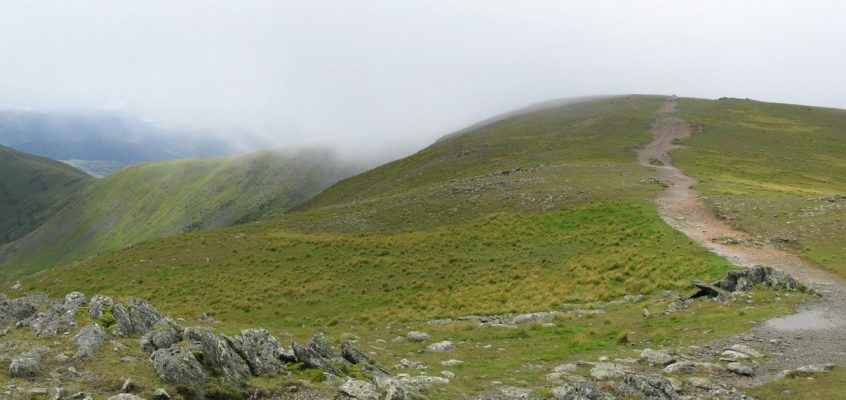 Fairfield Horseshoe from Rydal Mount 13.8.16