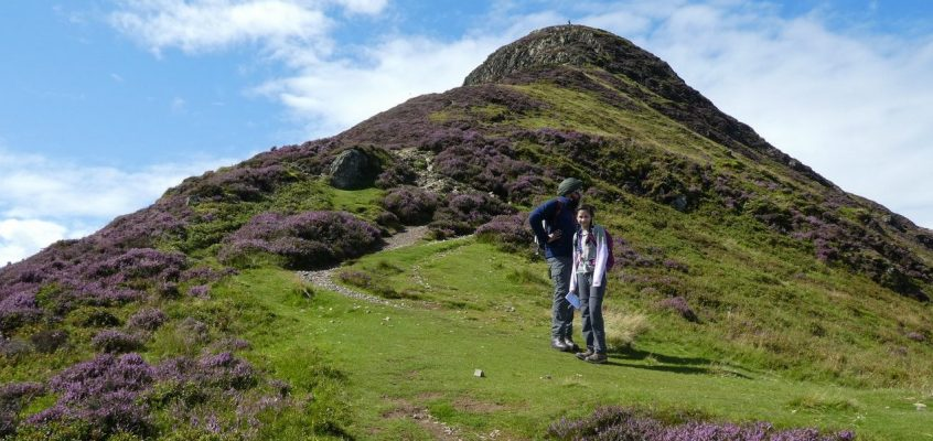 Causey Pike – Scar Crags – Sail – Eel Crag (Crag Hill) 12.8.17