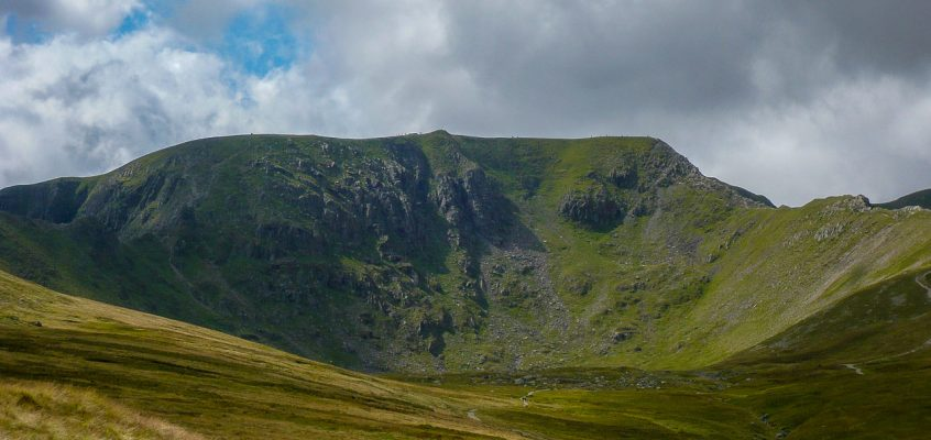 Helvellyn via Swirral Edge and Striding Edge 9.8.14