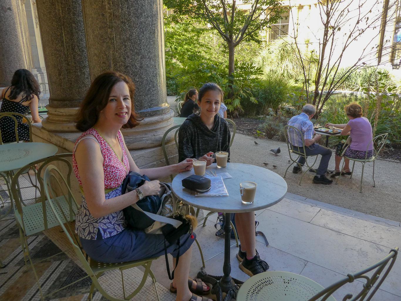 Catherine and Mila Petit Palais