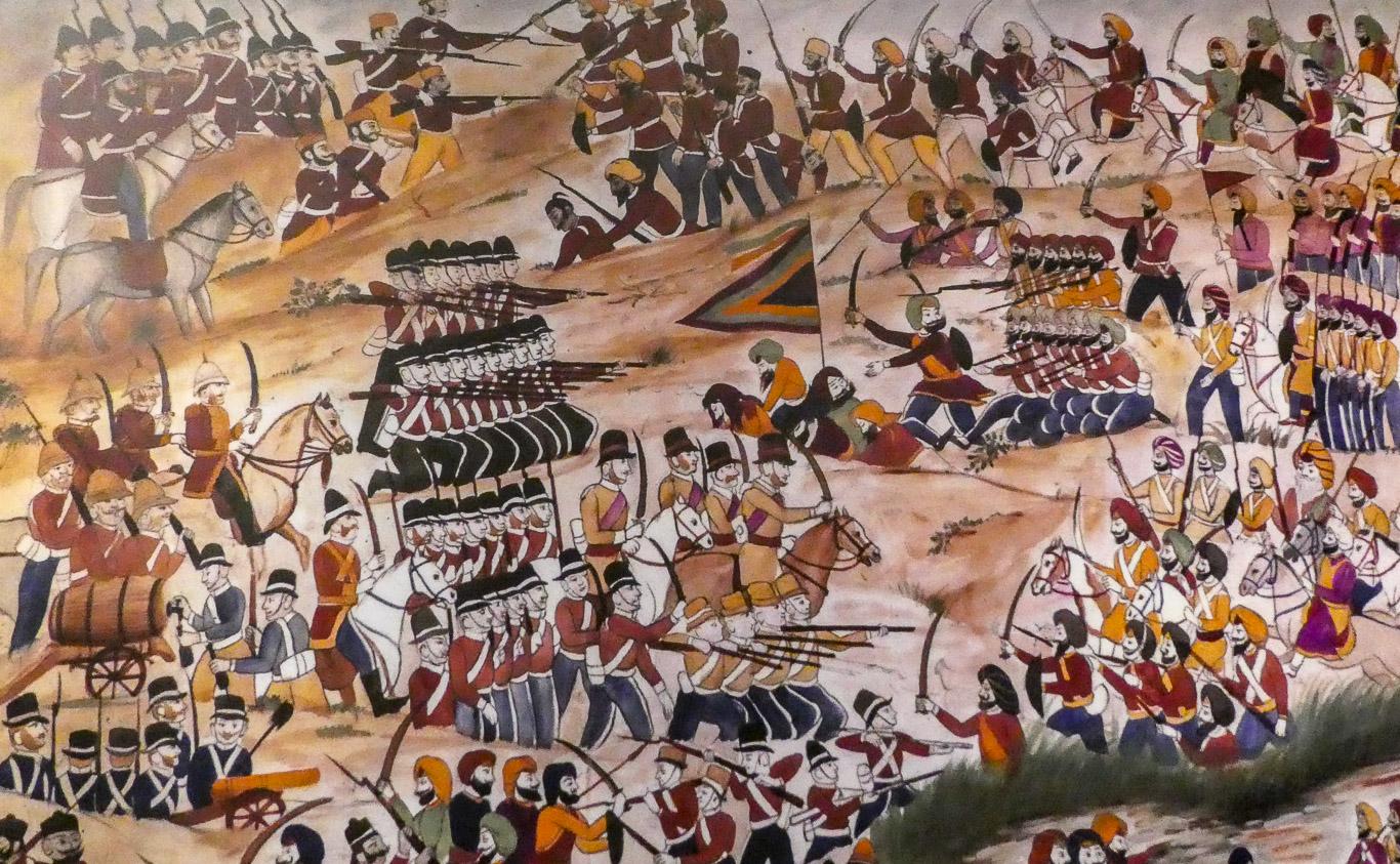 List of battles involving the Sikh Empire
