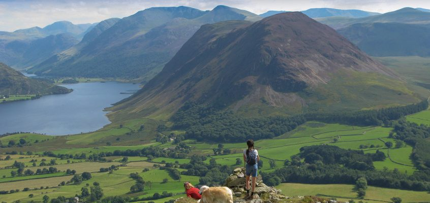 Fellbarrow and Low Fell from Thackthwaite 15.8.16