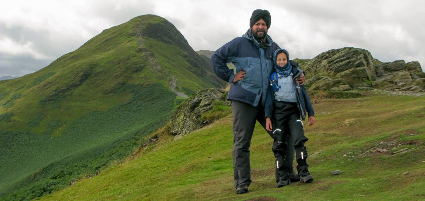 Catbells from Hawes End – 11.8.14
